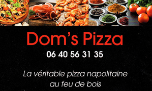 La carte DOM'S PIZZA
